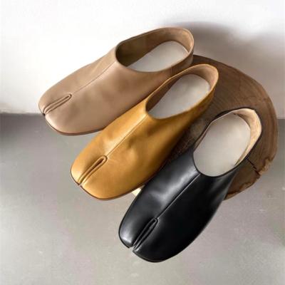 本革 足袋 人気靴 歩きやすい フラットシューズ